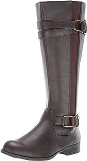 LifeStride Women's Fantastic Tall Shaft Boot Knee High, dark brown, 5.5 M US