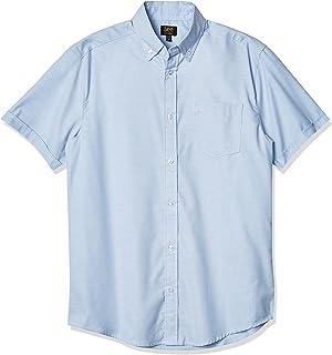 Lee Uniforms Men's Short-Sleeve Oxford Shirt