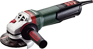 Metabo WEPBA17-125 Quick 14.5 Amp 11,000 rpm Angle Grinder with Brake, Auto-balancer, Electronics and Non-locking Paddle Switch, 5