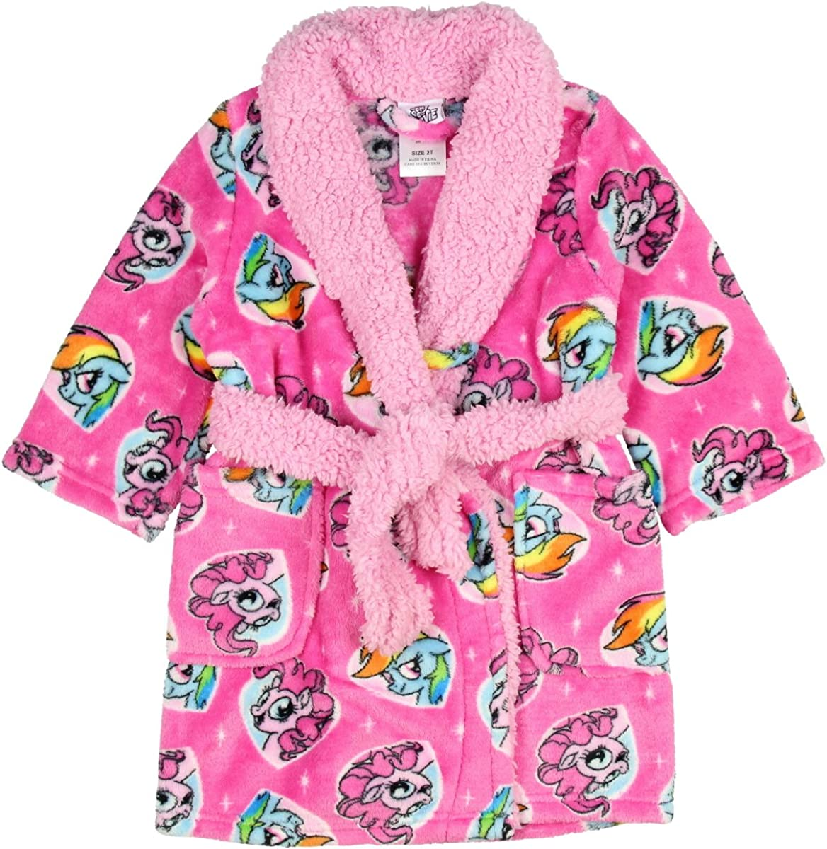AME My Little Pony discount The Complete Free Shipping Girls' Luxe Movie Plush Robe