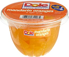 Dole Mandarin Oranges, 7-Ounce Containers (Pack of 12)