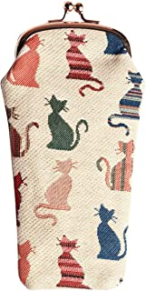 Signare Womens Tapestry Glasses Pouch Case
