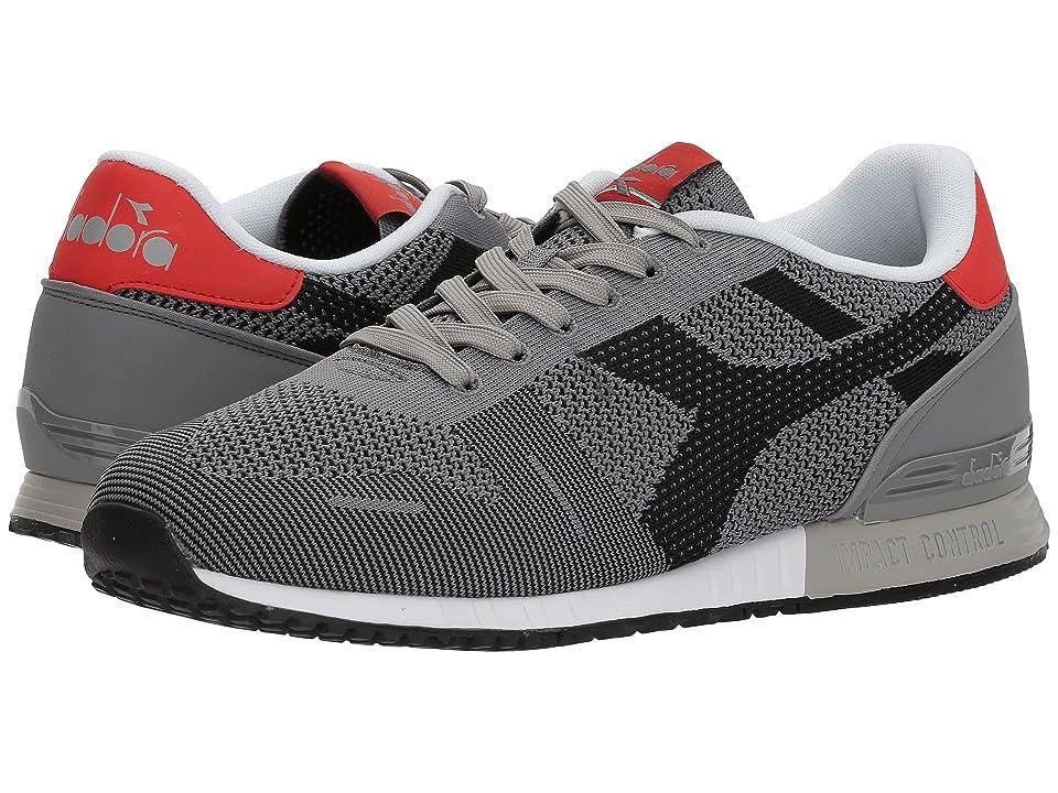 Diadora Titan Weave (Gray/Black) Athletic Shoes