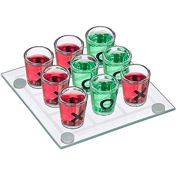 Trinkspiel Saufspiel Bingo Partyspiel Drinking Game Party Pong Glas Lostrommel
