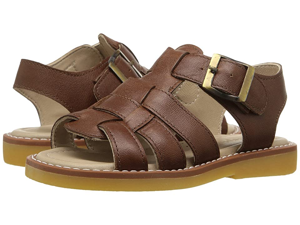 Elephantito Fisherman Sandal (Toddler/Little Kid/Big Kid) (Leather Brown) Boys Shoes