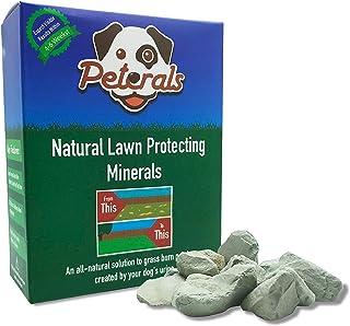 Peterals 600 gramos - Rocas minerales totalmente naturales para prevenir las quemaduras de césped por orina de perro