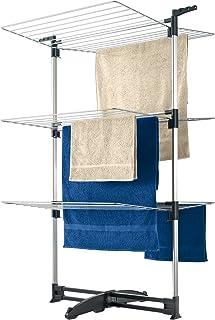 Metaltex CICLONE - Tendedero vertical con 3 alturas, 40