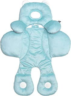 Benbat Total Body Baby Support Pillow - Stroller Or Car Seat Baby Body Support Pillow Blue/Pink - Baby Head Support Pillow and Body Support for Babies - Newborn Gifts and Gifts for Baby Shower (Blue)