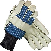 Leather Slip-On Cuff PIP 75-4904//XL Top Grain Goatskin Leather Mig Tig Welders Glove with Kevlar Stitching