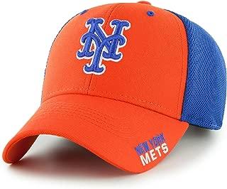 Fan Favorite MLB New York Mets Completion Mesh Back Adjustable Hat