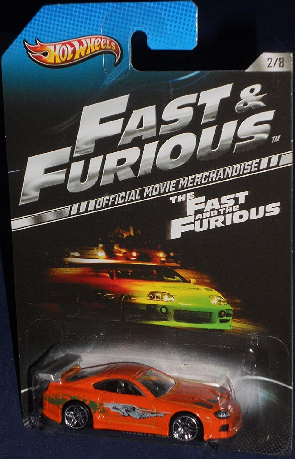 2013 Hot Wheels The Fast and the Furious Official Movie Merchandise Limited Edition Toyota Supra 2 8