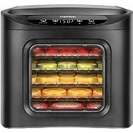 Chefman Food Dehydrator Machine... Chefman Food Dehydrator Machine 6 Tray BPA Free with Adjustable Digital Timer and Temperature...