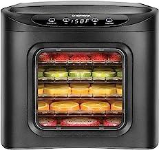 Chefman Máquina deshidratadora de alimentos, visualización