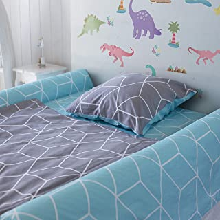 [2-Pack] Foam Bed Rails for Toddler | Soft Bed Bumper for Kids, Special Needs, Elderly | Baby Bed Guard | Child Bed Safety Side Rails With Water Resistant Washable Cover