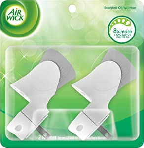 Air Wick Scented Oil Air Freshener Warmer, 2 Count (Pack of 4)