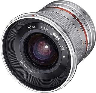 SAMYANG 単焦点広角レンズ 12mm F2.0 シルバー ソニー αE用 APS-C用