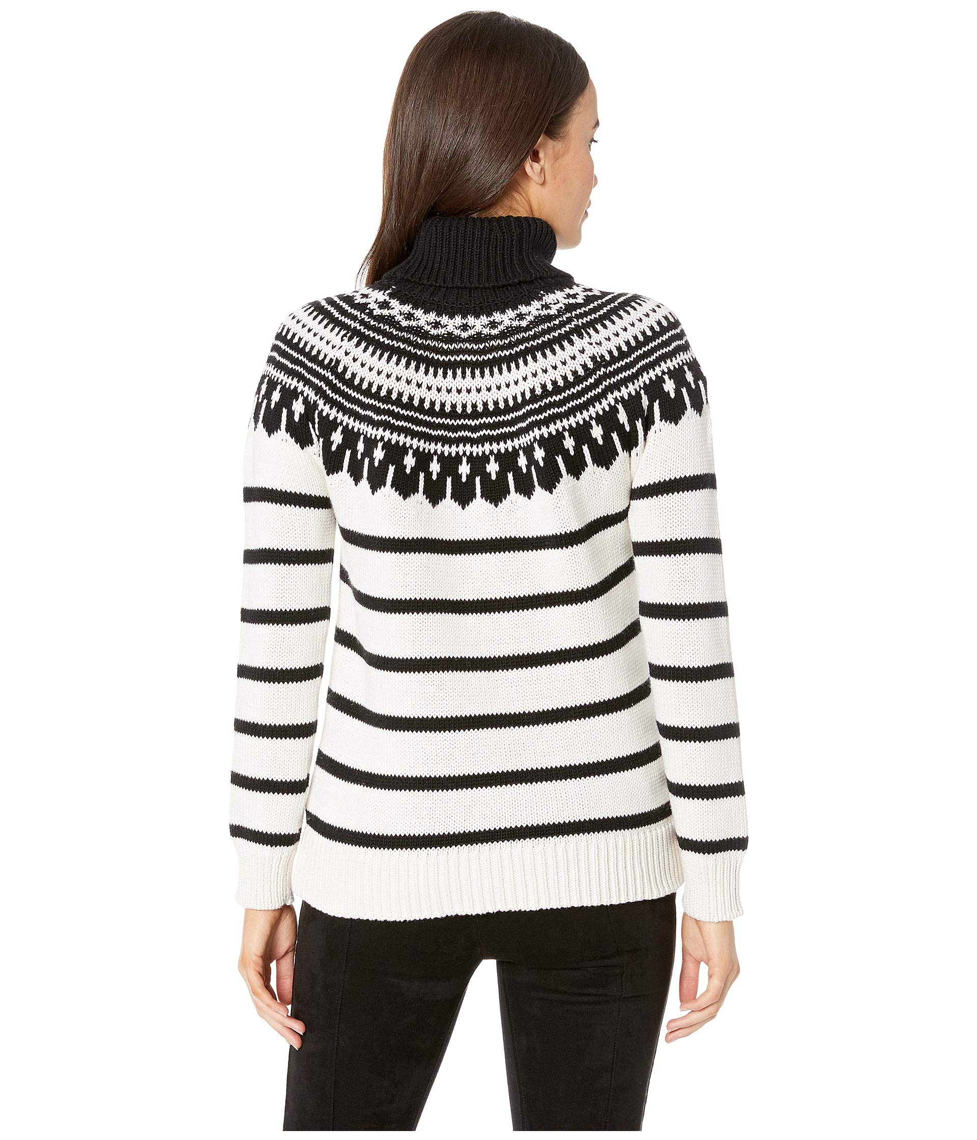 polo Cotton Cream Sweater blend Lauren Multi Ralph Mascarpone Turtleneck Black HxOY0Yq