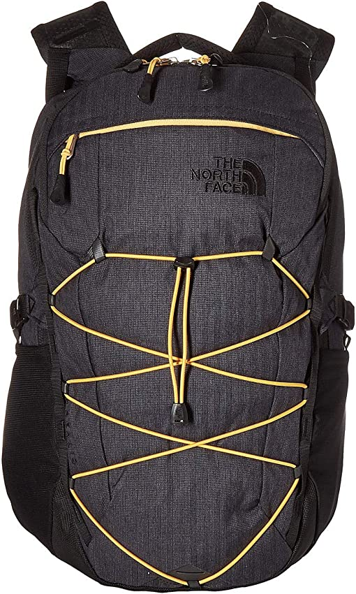 TNF Black Light Directional Heather/TNF Yellow
