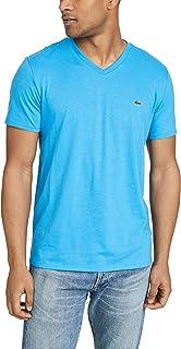 Mens Short Sleeve V-Neck Pima Cotton Jersey T-Shirt