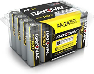 Rayovac AA Batteries, Ultra Pro Alkaline AA Cell Batteries (24 Battery Count)