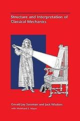 Structure and Interpretation of Classical Mechanics Hardcover