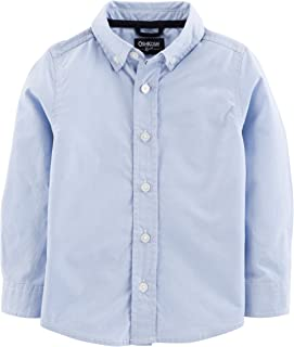Boys' Toddler Button-Front Shirt