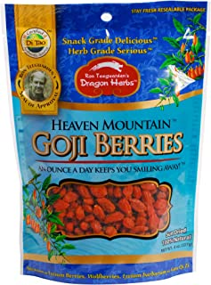 Dragon Herbs, Heaven Mountain Goji Berries, 8 Ounce