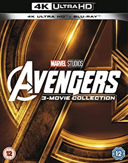 Avengers Collection 1-3 UHD 2018 Region Free