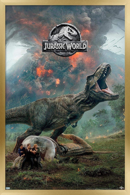 Trends International Jurassic 出荷 World: Fallen - Wa Kingdom Volcano バーゲンセール