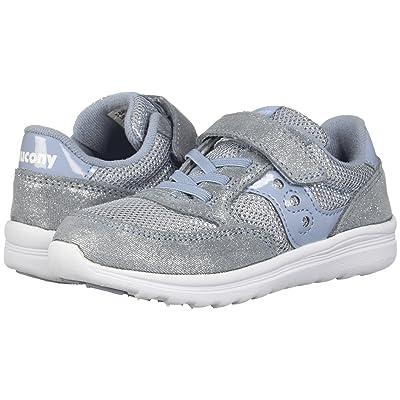 Saucony Kids Originals Jazz Lite (Toddler/Little Kid) (Blue Sparkle) Girls Shoes