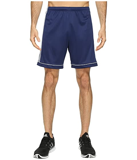 azul Squadra 17 adidas Pantalones blanco cortos oscuro qwfInTa