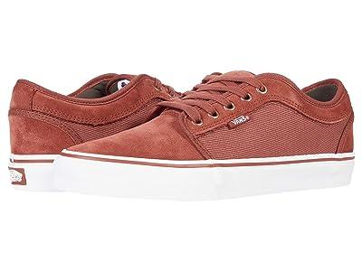 Vans Chukka Low ((Heavy Twill) Henna) Skate Shoes