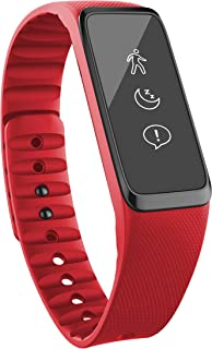 Striiv Fusion Activity Tracker - Fitness and Sleep Tracking Smartwatch, 3 Colors (Black, Red, Blue)