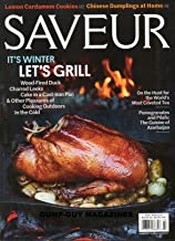 Saveur 2017 Magazine WOOD-FIRED DUCK Charred Leeks CAKE IN A CAST-IRON PAN Pomegranates and Pilafs: The Cuisine Of Azerbaijan CHINESE DUMPLINGS AT HOME