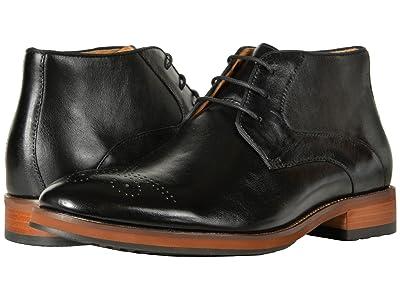 Florsheim Blaze Chukka Boot (Black Smooth) Men
