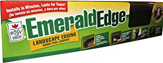 Easy Gardener 8724 Emerald Interlocking Landscape Border Edging, 4 ft x 5 ft, 96ft, Green