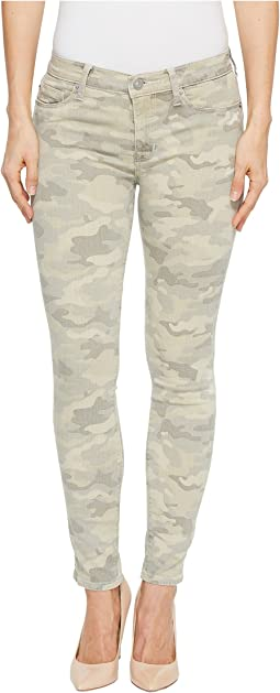 Hudson - Nico Mid-Rise Ankle Super Skinny Jeans in Army Camo