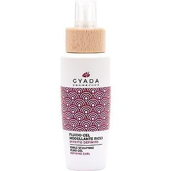 Gyada Cosmetics FLUIDO GEL MODELLANTE RICCI EFFETTO DEFINITO ● CERTIFICATO BIO ● MADE IN ITALY ● 125 ml