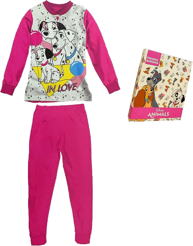 Pigiama Bambina in Cotone Sabor Pigiama Bambina Estivo La Carica dei 101 Pigiama Bambina Lungo Disney Marvel