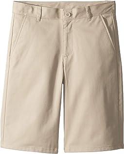 Flat Front Shorts (Big Kids)