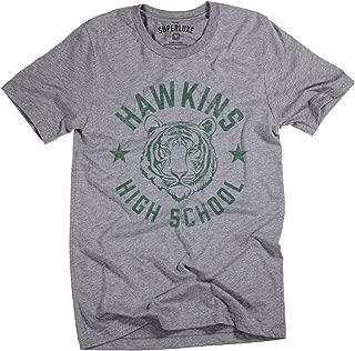 Mens/Womens/Unisex Hawkins High School Indiana Vintage 80s Retro T-Shirt