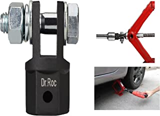 Dr.Roc Scissor Jack Adapter for Use with 1/2 Inch Drive Impact Wrench or 13/16 Inch Lug Wrench Scissor Jack Adaptor for Automotive Jack RV or Trailer Leveling Jacks Use Drill or Wrench
