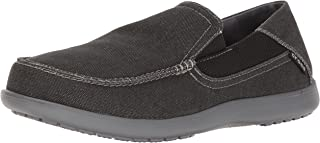Men's Santa Cruz 2 Luxe Loafer Slip-On, Black/Charcoal, 13 D(M) US