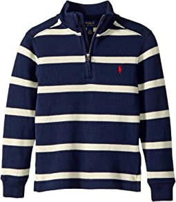 Polo Ralph Lauren Kids - Striped French-Rib Pullover (Little Kids/Big Kids)