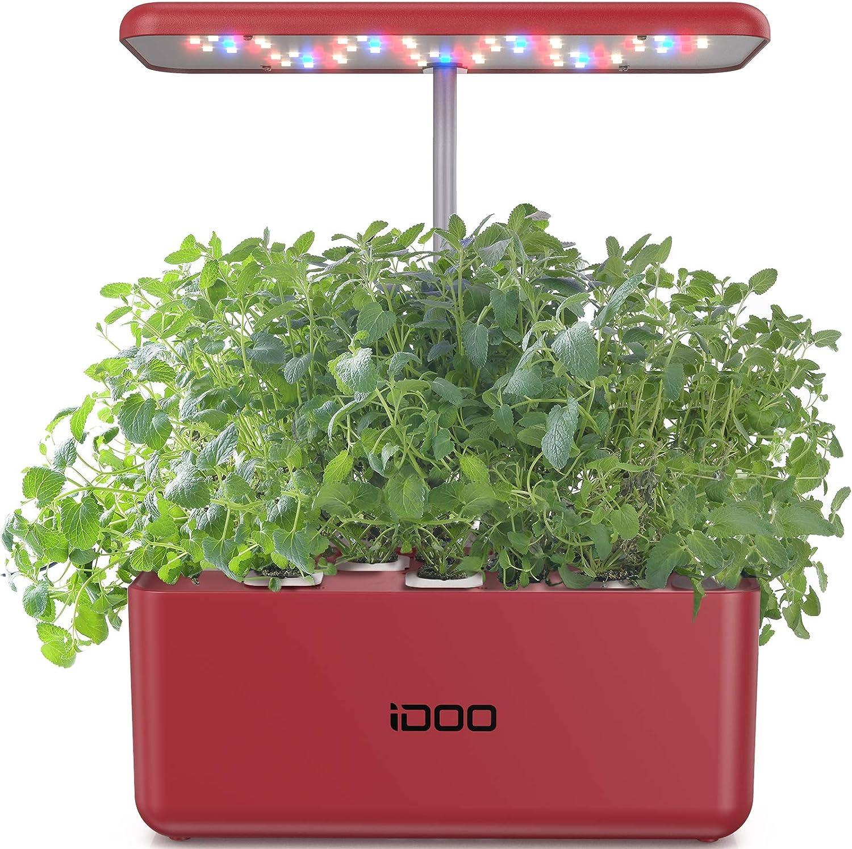 iDOO Hydroponics Ranking TOP12 Growing System Indoor Herb Starter Kit Special sale item Garden