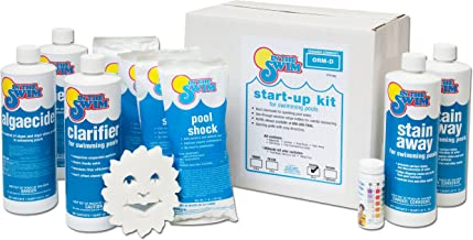 start up chemicals for new pool water
