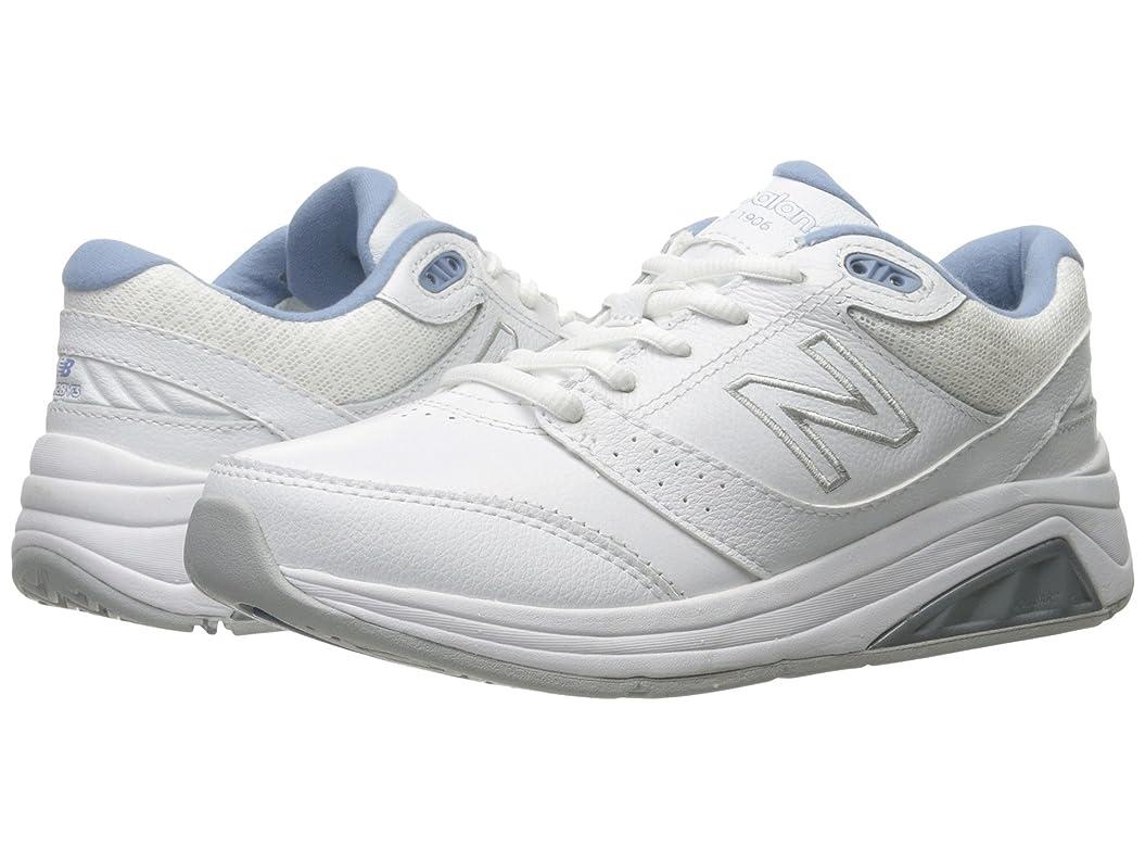 測定可能優先トライアスロン[new balance(ニューバランス)] レディースランニングシューズ?スニーカー?靴 WW928v3 White/Blue 10 (27cm) 2A - Narrow [並行輸入品]