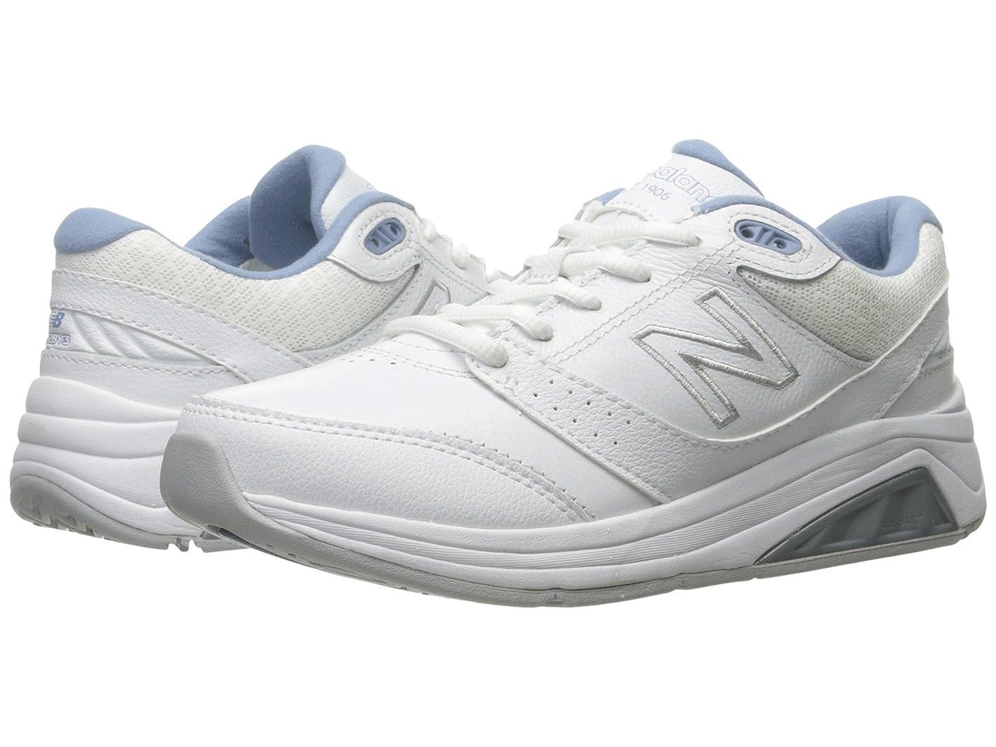 鯨農場メロディアスレディースランニングシューズ?スニーカー?靴 WW928v3 White/Blue 5 (22cm) D - Wide [並行輸入品]