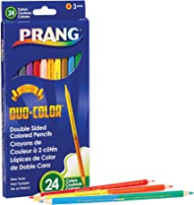 Prang X22112 Duo Pencils, 24, Assorted Colors 12 Count