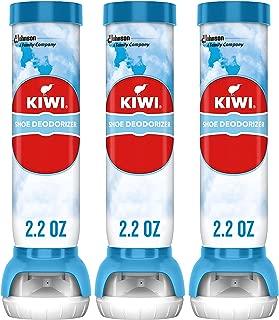 KIWI Fresh Shoe Deodorizer, 2.2 oz (3 Aerosol Sprays)